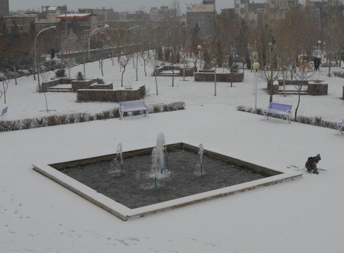 اولین برف زمستون امسال