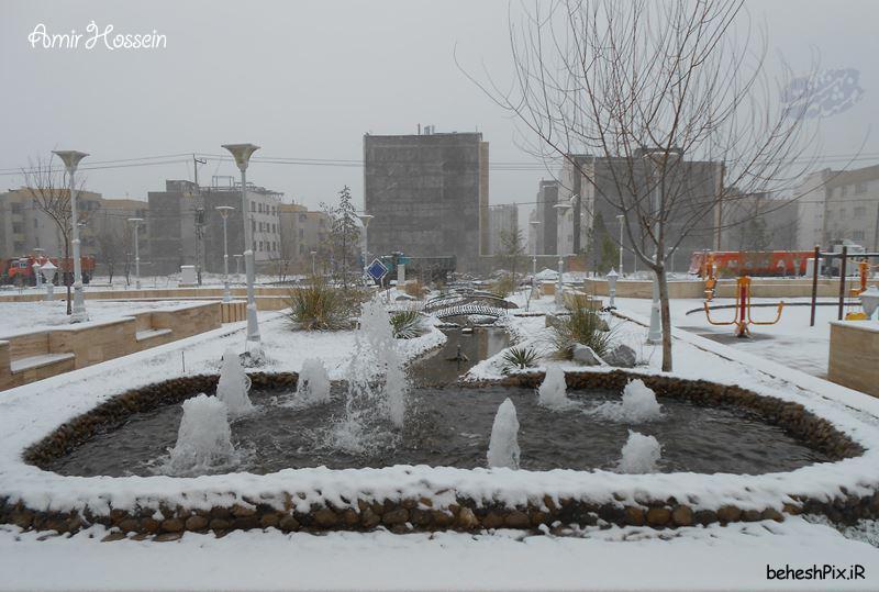 بارش برف در اسفندماه