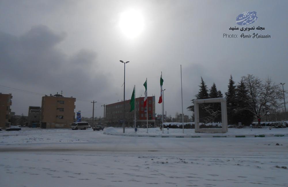 میدان بوستان جاهد شهر