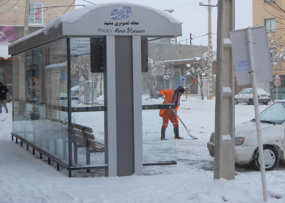ایستگاه اتوبوس میدان بوستان جاهدشهر