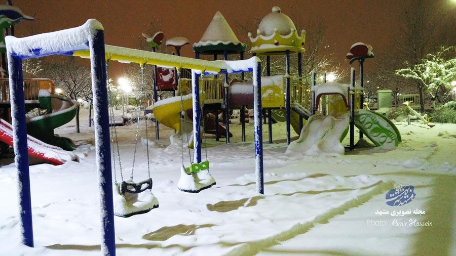 بوران برف 30 بهمن (مشهد)