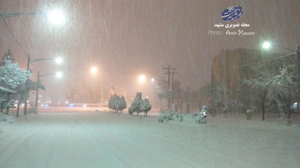 بوران شدید برف در ایران